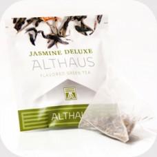 Чай зеленый в пирамидках Althaus Jasmine Deluxe (Альтхаус Жасмин Делюкс), 15*2,75 г