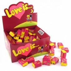 Жевательная резинка Love is Вишня-Лимон, 100*4,2 г