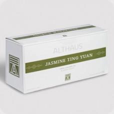 Чай зеленый в пакетиках для чайника Althaus Jasmine Ting Yuan (Альтхаус Жасмин Тинг Юань), 20*4 г