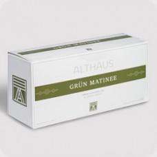 Чай зеленый в пакетиках для чайника Althaus Grun Matinee (Альтхаус Грюн Mатине), 20*4 г