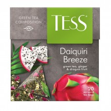 Чай зеленый в пирамидках Tess Daiquri Breeze (Тесс Дайкири Бриз), 20*1,8 г