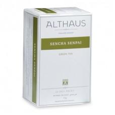 Чай зеленый в пакетиках для чашки Althaus Sencha Senpai (Альтхаус Сенча Сенпай), 20*1,75 г