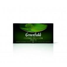 Чай зеленый в пакетиках для чашки Greenfield Flying Dragon (Гринфилд Флаинг Драгон), 25*2 г