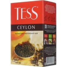 Чай черный листовой Tess Ceylon (Тесс Цейлон), 100 г